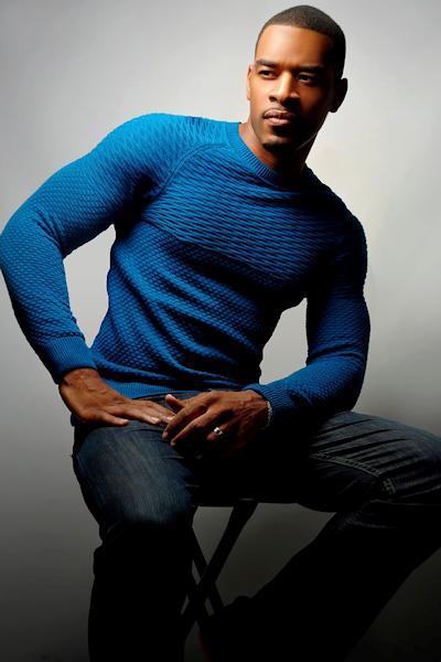 Kenyon with a Blue Shirt