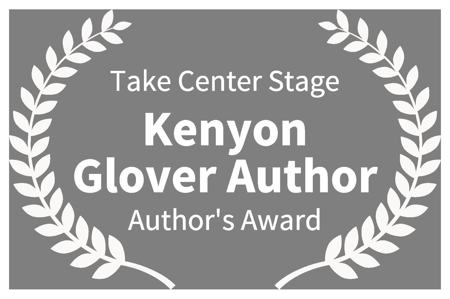 Take Center Stage - Writer's Journey Author Award