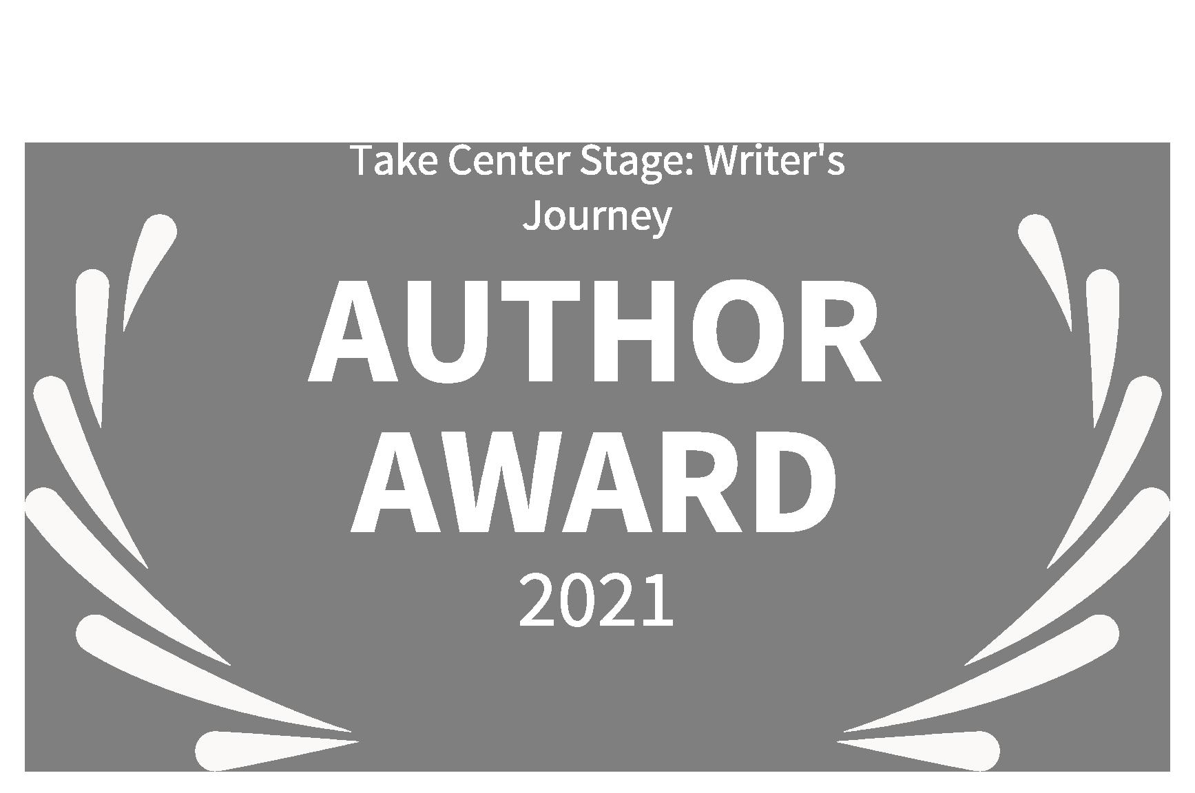 Take Center Stage - Authors Award