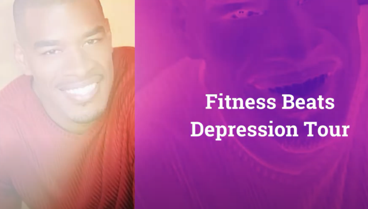 Kenyon Glover in Fitness Beats Depression Tour
